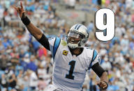 <p>Cam Newton usually makes it work, but losing Greg Olsen is not an ideal situation. (Cam Newton) </p>