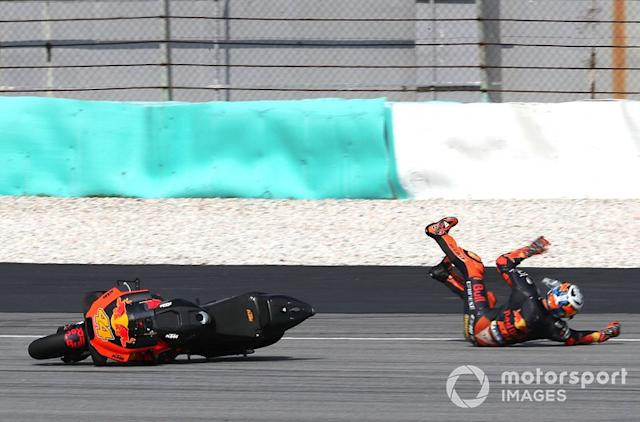 "Accidente de Pol Espargaro, Red Bull KTM Factory Racing <span class=""copyright"">Gold and Goose / Motorsport Images</span>"