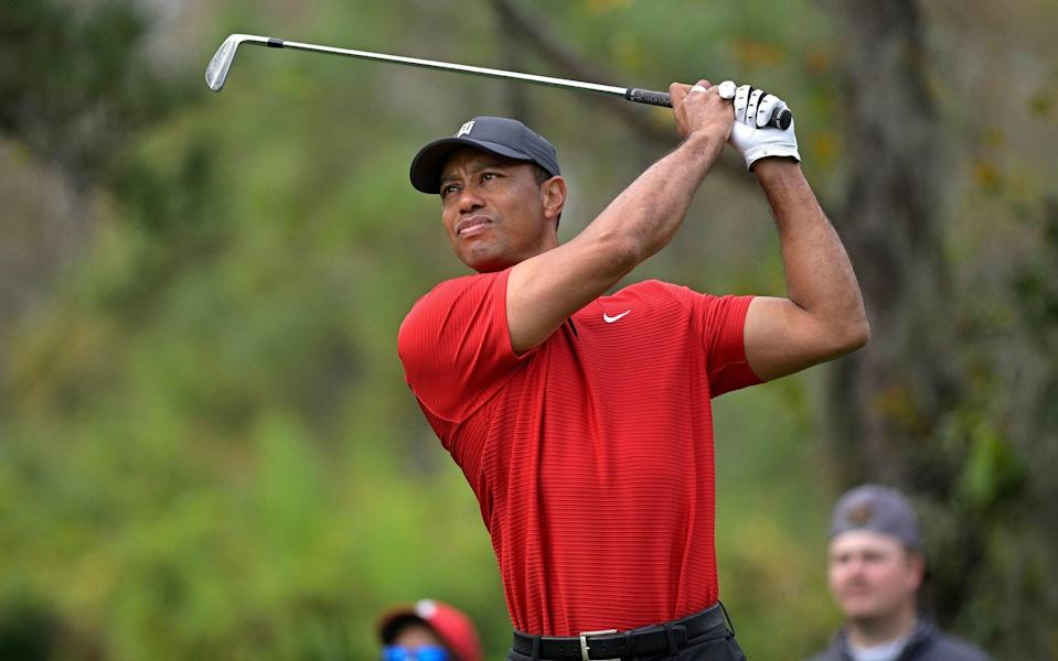 This two-part HBO documentary tells the warts-and-all story of the golf great Tiger Woods - Phelan M Ebenhack
