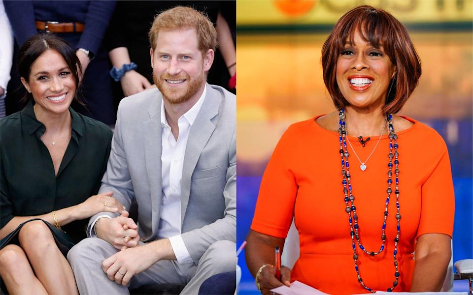 The Duke and Duchess of Sussex have reportedly chosen a US network to cover the royal baby reveal [Photo: Getty]