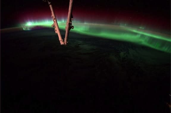 NASA astronaut Reid Wiseman captured this view from the International Space Station on Aug. 19, 2014.