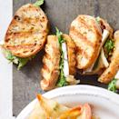 <p>Turn the basics of a cheese board into adorable mini grilled cheese sandwiches for a satisfying appetizer.</p>