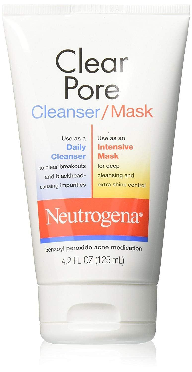 <p>Dozens of dermatologists agree: the <span>Neutrogena Clear Pore Cleanser/Mask</span> ($7) is gentle but effective, thanks to its gentle 3.5% benzoyl peroxide that kills bacteria and helps to unclog pores. It is mild enough to be used as a daily cleanser, and works to treat inflammatory acne on the face, chest, and back. Even better? It can also be used as a mask when you want to do a little self-care skin care.</p>