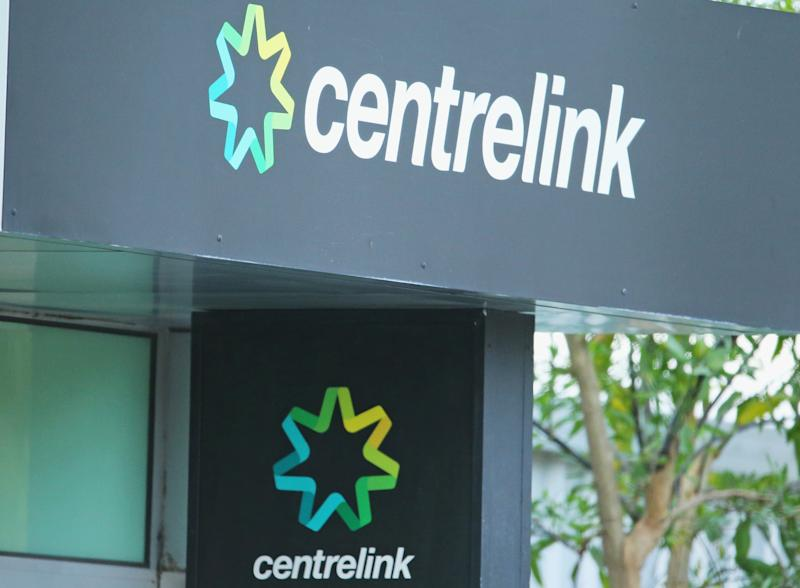 MELBOURNE, AUSTRALIA - OCTOBER 09: The Centrelink logo is seen outside of a Centrelink office on October 9, 2014 in Melbourne, Australia. Economists expect the Australian jobs figure for September to show an unemployment rate of 6.2%. (Photo by Scott Barbour/Getty Images)