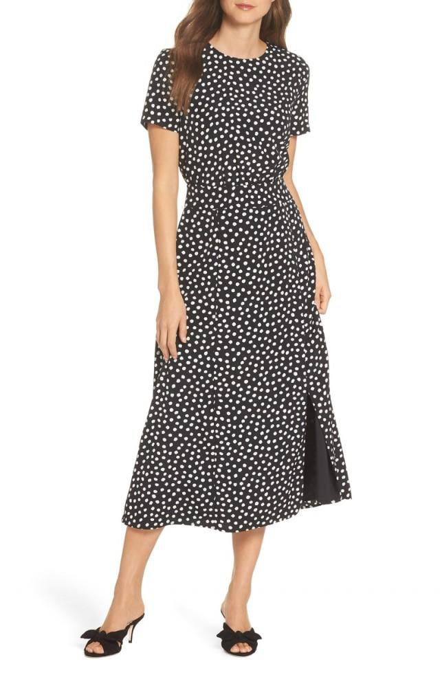 Maggy London dotted dress
