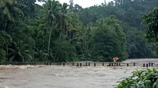 Heavy rains have left 13 people dead with schools shut, roads waterlogged and life severely affected in Kerala.