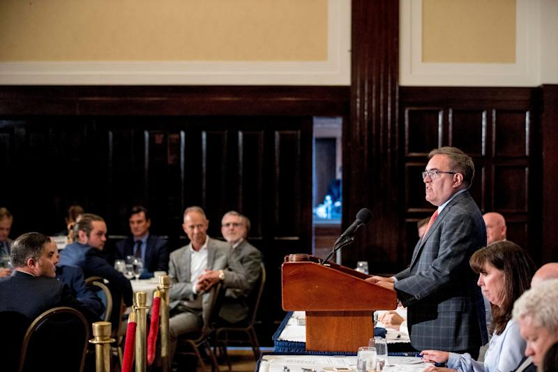 EPA administrator Andrew Wheeler at the National Press Club on June 3. (Photo: AP/Andrew Harnik)