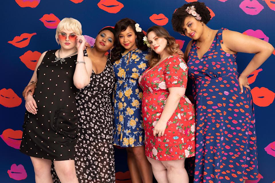 The new limited edition Dia&Co x Betsey Johnson collection (Photo: Dia&Co)