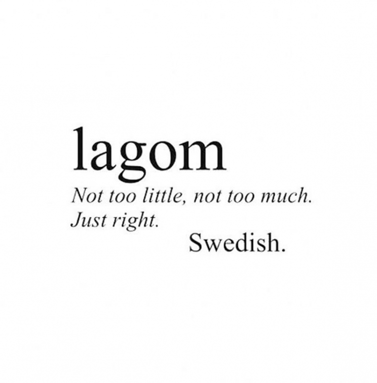 Lagom is the latest Scandinavian lifestyle trend to hit the UK [Photo: Instagram/dyerlinee]