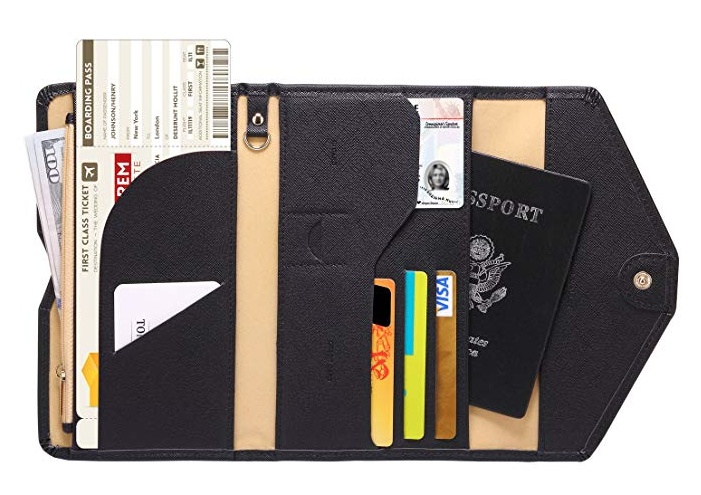Zoppen RFID-Blocking Travel Passport Wallet. (Photo: Amazon)