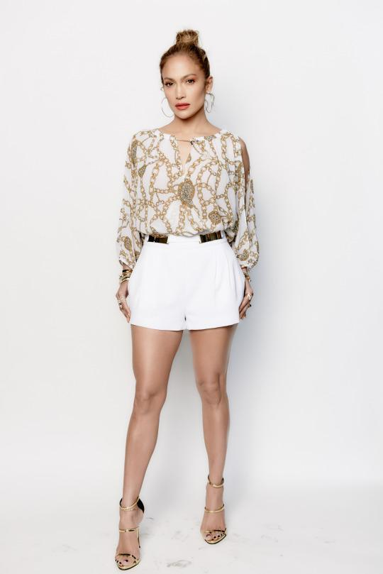 J Lo Actually Wears Her Own Kohl S Collection In Real Life