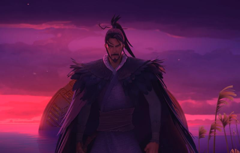 Jiang Zi Ya in Jiang Zi Ya: Legend of Deification by Coloroom Pictures. (Image: Encore Films)