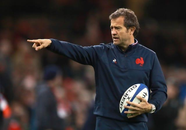 France head coach Fabien Galthie was forced to apologise after leaving France's bubble to watch his son play rugby