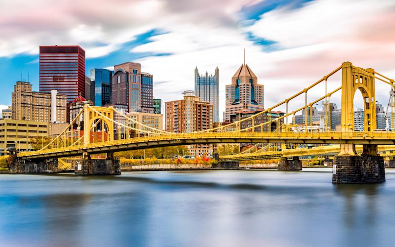 BA now flies non-stop to a remarkable 27 US cities, including - from next April - Pittsburgh - This content is subject to copyright.