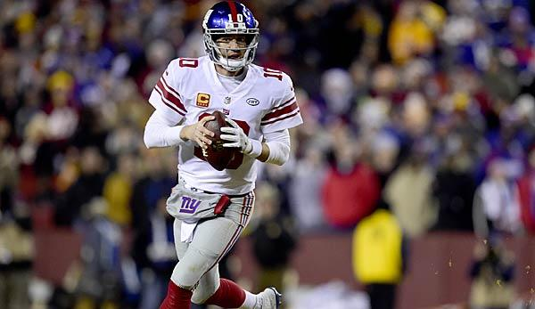 NFL: Giants: Eli Manning erneut der Starting-Quarterback