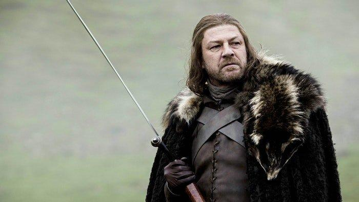 "Sean Bean in ""Game of Thrones"" Season 1.  (HBO)"