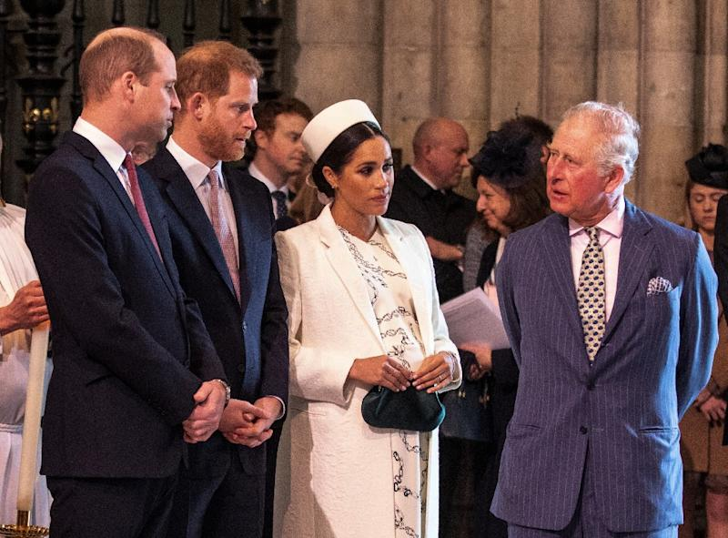 The hotly awaited royal baby will have US nationality because of his American mother and thus have to answer to the US tax man (AFP Photo/Richard Pohle)