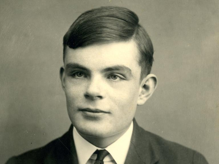 Alan Turing's work on deciphering the German Enigma codes led to a vital breakthrough against Adolf Hitler (AFP Photo/)