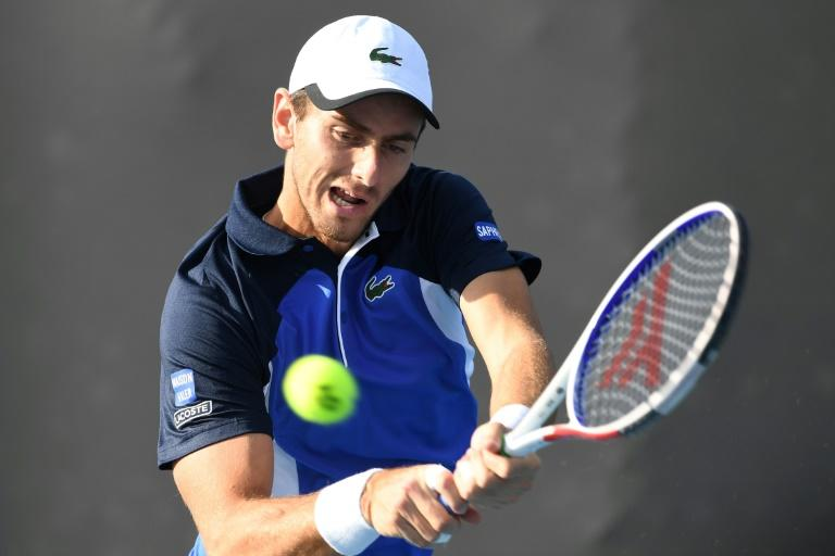 France's Elliot Benchetrit was a first-round loser at the Australian Open