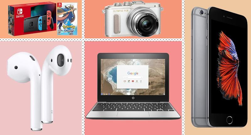 From iPhones to 4K TV's - these are all the Black Friday tech deals to snap up ASAP. [Photo: Yahoo Style UK]