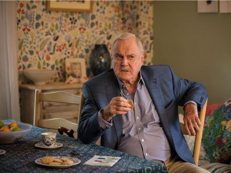 John Cleese as Phil in 'Hold the Sunset', his first BBC sitcom since 'Fawlty Towers': BBC/Sophie Mutevelian