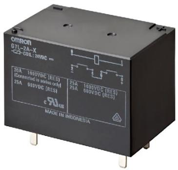 Omron Electronic Components Expands G7L PCB Power Relay Family