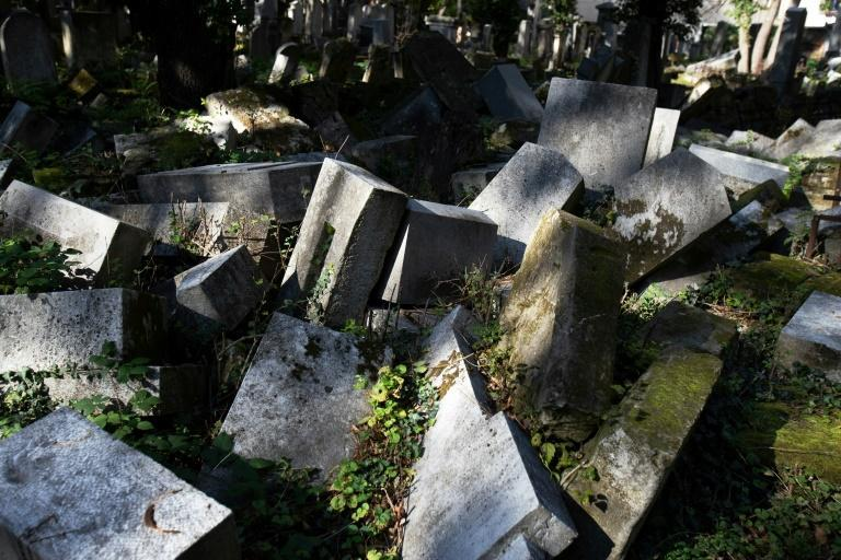 The cemetery has suffered from decades of neglect and vandalism -- including desecration under the Nazis