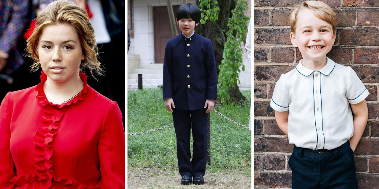 <p>You've obsessed over Queen Elizabeth II's adorable grandkids; now get to know some of the youngest members of the most prominent royal families around the globe, aged 19 and under.</p>