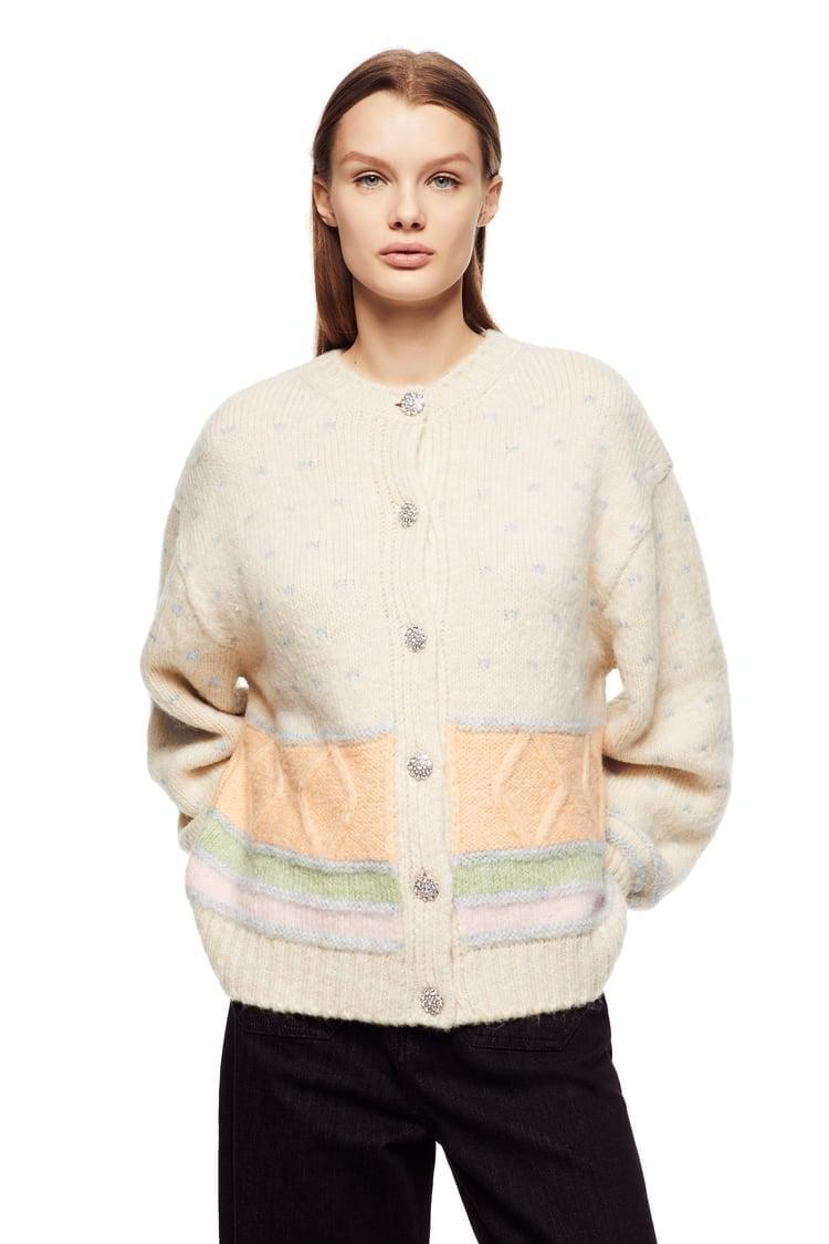 <p>This <span>Jewel Button Sweater</span> ($50) is gorgeous.</p>