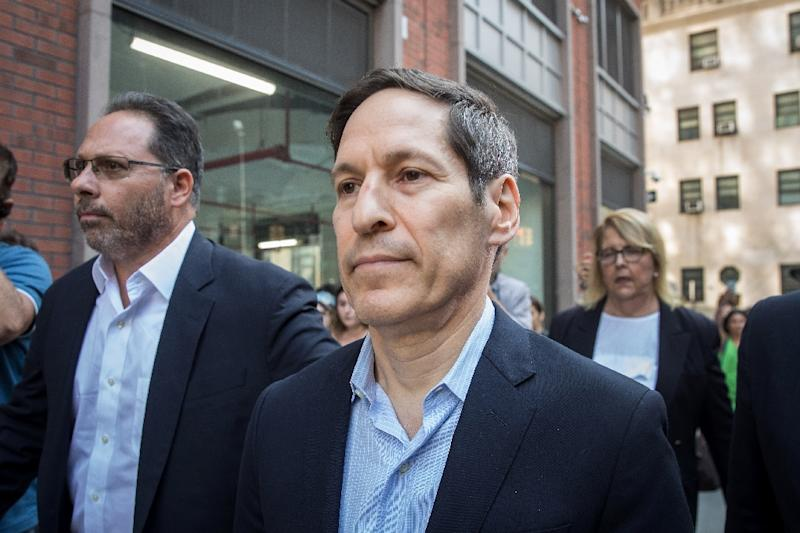 Tom Frieden appeared before a Brooklyn criminal court and was released without bail