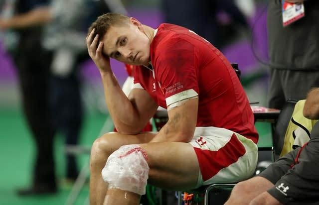 Wales are without Jonathan Davies for the Six Nations (David Davies/PA)