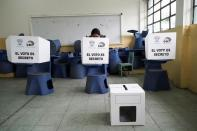 Second round of the presidential election in Ecuador