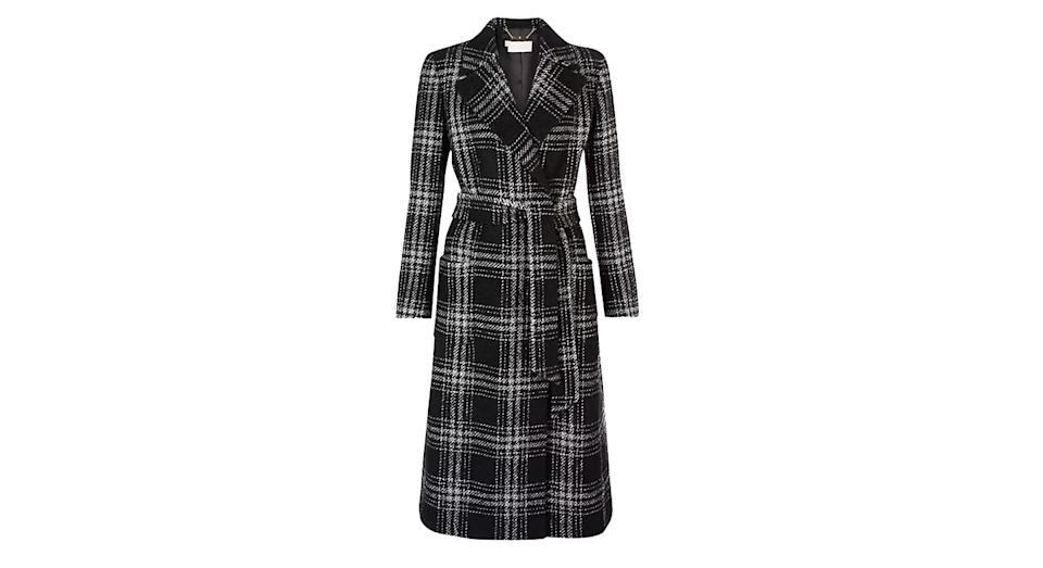 Hobbs Florina Check Coat