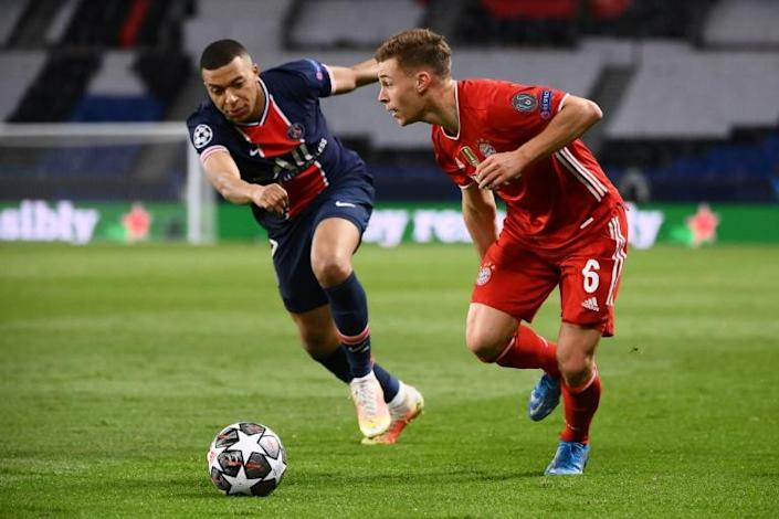 Kylian Mbappe and Paris Saint-Germain lost 1-0 at home to Bayern Munich on Tuesday but won their Champions League quarter-final tie on away goals