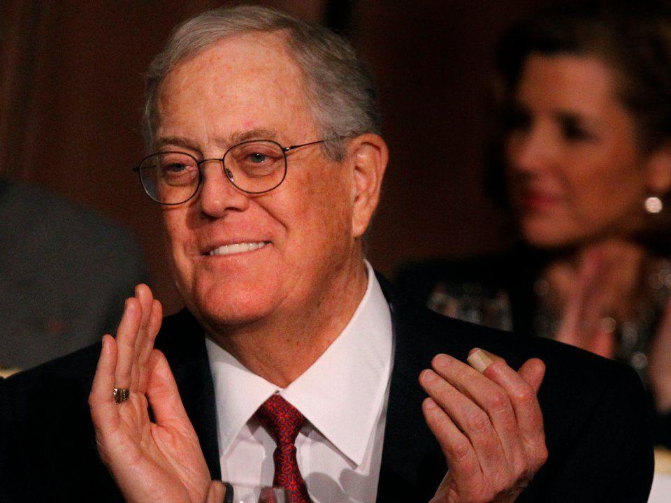<p>No. 7 (tie): David Koch<br /> Net worth: $47.9 billion<br /> Age: 76<br /> Country: US<br /> Industry: Diversified investments<br /> Source of wealth: Inheritance/self-made; Koch Industries<br /> Along with his brother Charles, David Koch runs Koch Industries as executive vice president. The second-largest private company, $100 billion (in sales) Koch Industries manufactures everything from fertilizer and Dixie Cups to asphalt and biodiesel. David's personal wealth has decreased by $1.2 billion billion in the past year.<br /> Famously conservative, the brothers also maintain immense political influence and routinely spend, along with their vast donor network, hundreds of millions on political campaigns and causes.<br /> David has had two brushes with death. He survived a plane crash in 1991 in which everyone else in first class died, and he also won a battle with prostate cancer. He's become one of the world's most generous givers since, pledging to contribute more than $1.2 billion to cancer research, hospitals, education, and cultural institutions over his lifetime through his David H. Koch Charitable Foundation. </p>