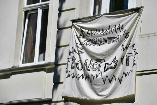 Activists in Kreuzberg are pulling no punches in their battle against Google