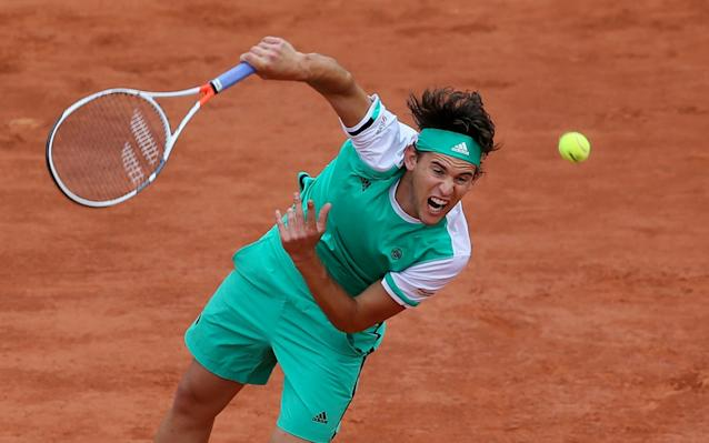 <span>Thiem will face Nadal in the second men's semi-final on Friday</span>