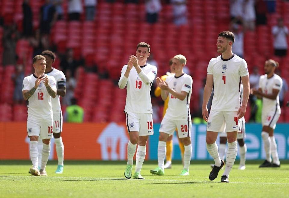 England are through with a game to spare (The FA via Getty Images)