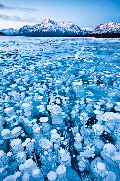 Photographer Emmanuel Coupe is a participant in the 2011 National Geographic Traveler Photo Contest for this photo of frozen lake in Canada.  Check out the other pictures from his amazing shoot!  (Photo: Emmanuel Coupe)
