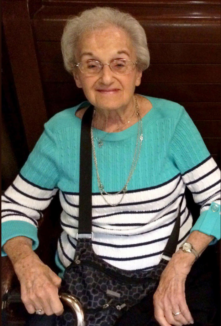 """<p>Rose Mallinger was 97, but you'd never know it, said Brian Schreiber, the president of the Jewish Community Center of Greater Pittsburgh and a member of Tree of Life. """"She just had spring in her step,"""" he said. She was at services every week, accompanied by her whole family on major holidays. """"Her faith and her connection to Judaism was very, very important to her,"""" Schreiber said. Mallinger was routinely called on to lead one of the English-language prayers that her congregation recited after Hebrew prayers, he said. Her daughter, Andrea Wedner, 61, was among the wounded, the family said. (Photo: Mallinger family/UPMC via AP) </p>"""