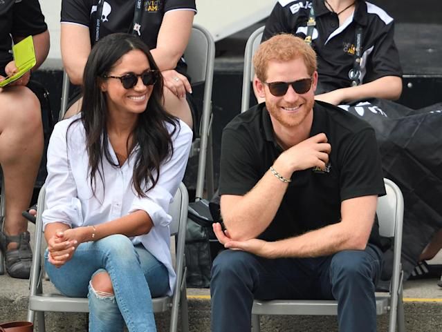 Meghan Markle and Prince Harry. (Photo: Getty Images)