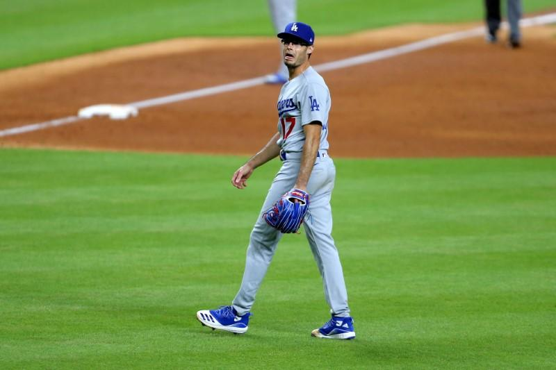 Dodgers pitcher Kelly suspended eight games