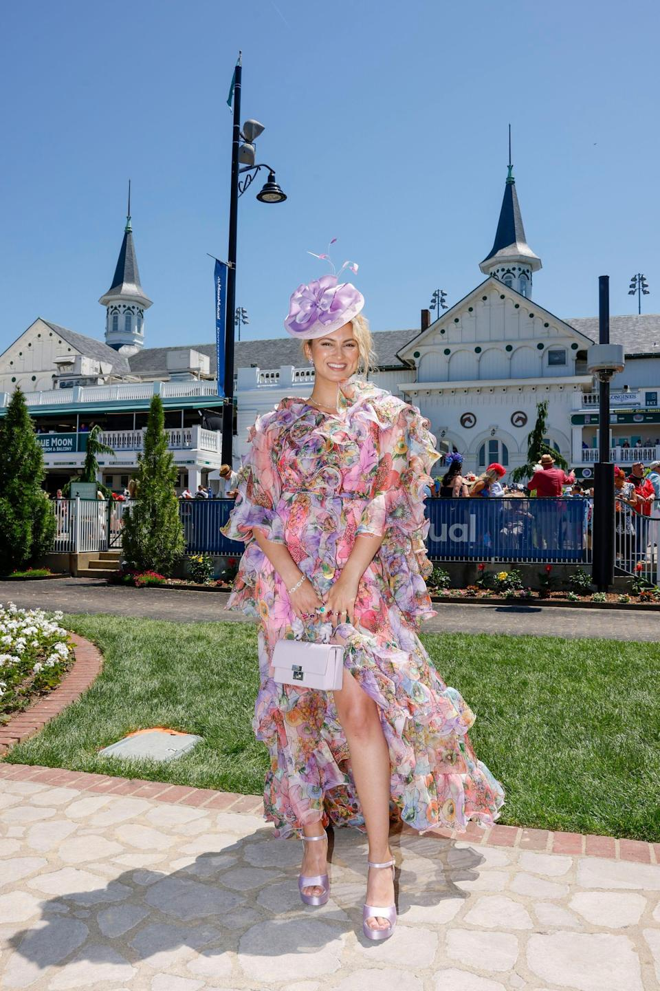 Tori Kelly attends the Kentucky Derby 147 at Churchill Downs on May 1 in Louisville, Kentucky.