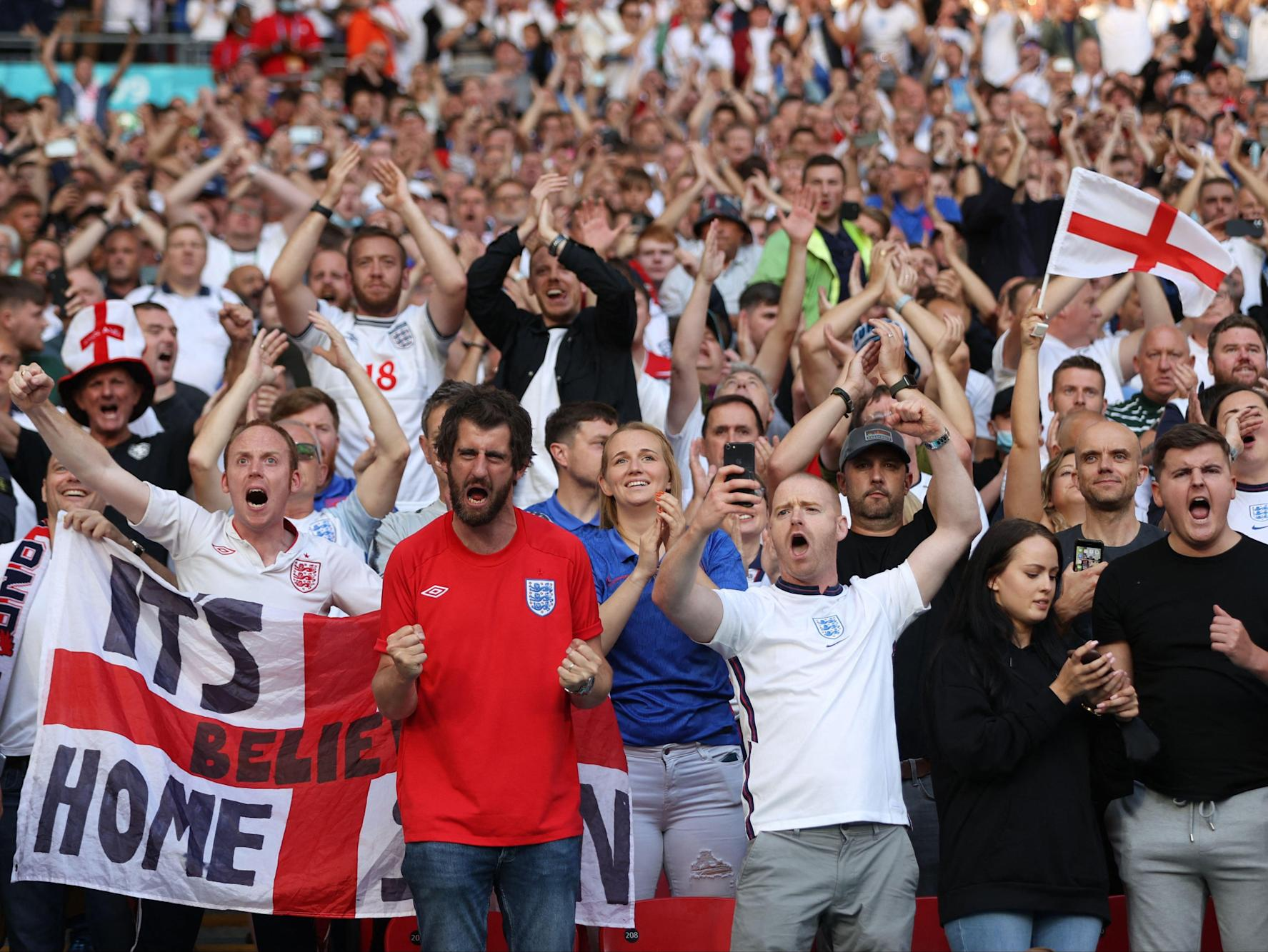 Euro 2020 celebrations 'driving up' Covid cases across UK, scientists say
