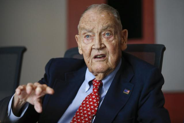 Jack Bogle, retired chief of the Vanguard Group, is considered the father of index investing.