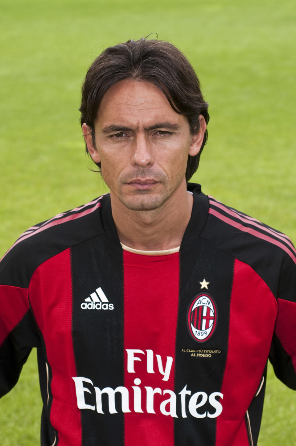 File photo of new AC Milan Filippo Inzaghi (AFP Photo/AIC Photo)