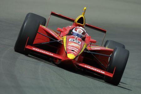 Tony Stewart during his last appearance in the Indianapolis 500 in 2001. Photo: Robert Laberge/AllSport