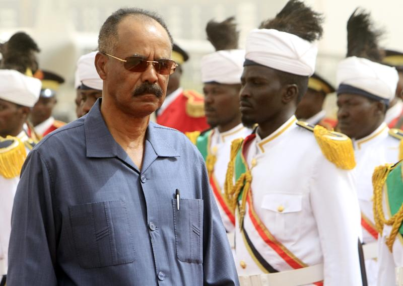 Authoritarian and austere, 69-year old Eritrean President Isaias Afwerki led one of Africa's most remarkable rebel armies in a bitter 30-year struggle against a far larger Ethiopian army (AFP Photo/Ashraf Shazly)
