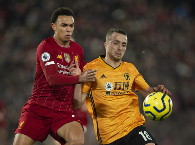 Wolverhampton Wanderers gave Liverpool a tough test at Anfield last month. (Photo by Visionhaus)