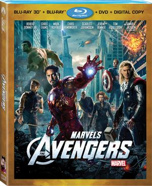 The Avengers Blu-ray Box Art